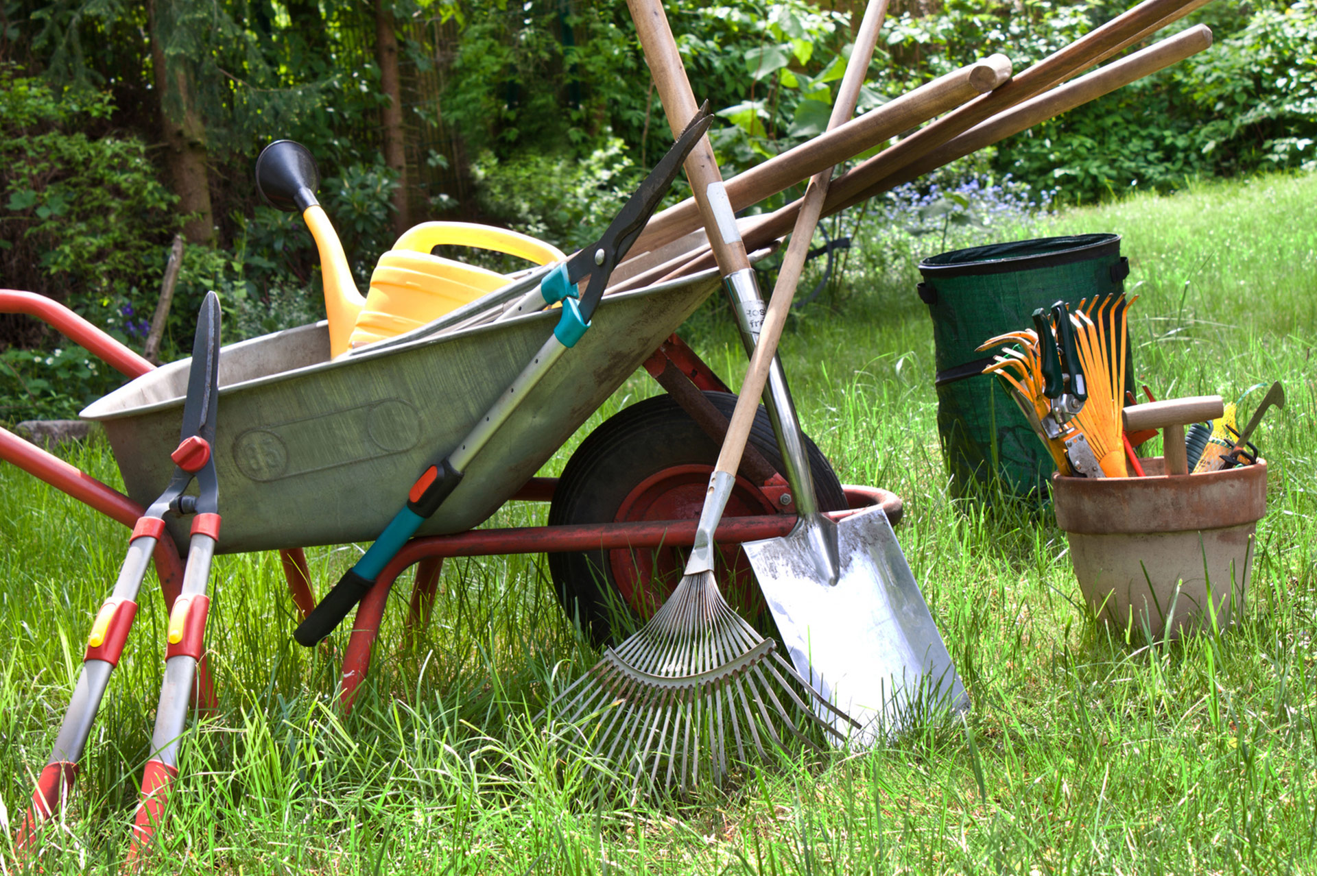 Curso de jardiner a for Bricolage jardin
